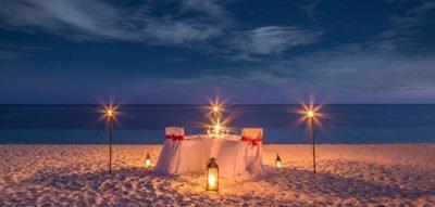 Kuredu Geschenke - Candlelight-Dinner
