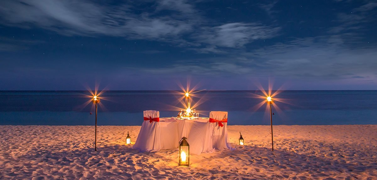 Kuredu Gifts - Candlelight Dinner