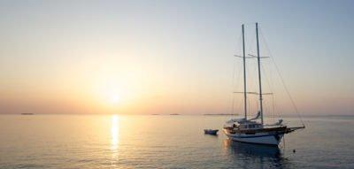 Kuredu Geschenke - Romantische Bootsfahrt mit Abendessen