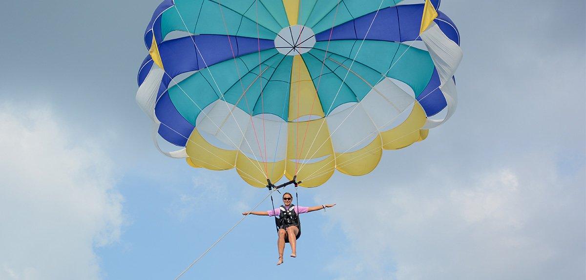 parasailing kuredu malediven